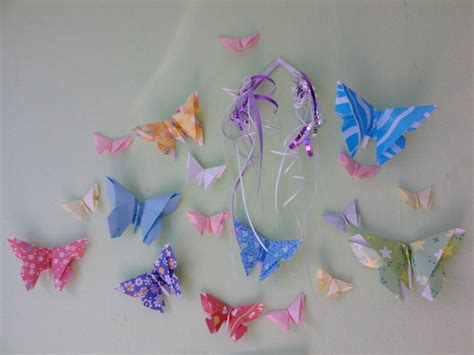 origami butterflies peacefully folding origami butterfly