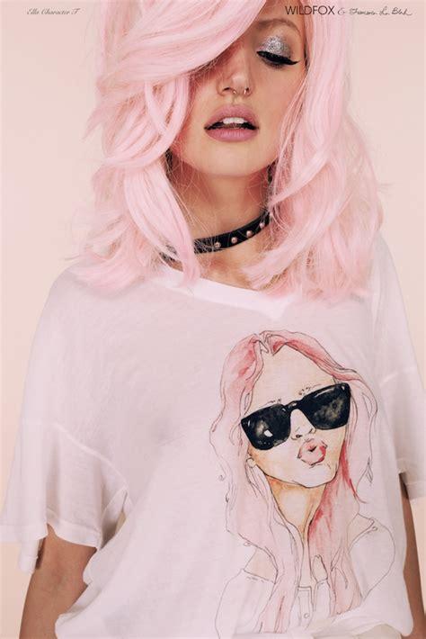 hair pastel zilah inolvina pastel hair dye diy
