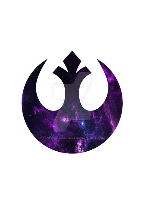 star wars rebel alliance symbol poster by clockworkangel1