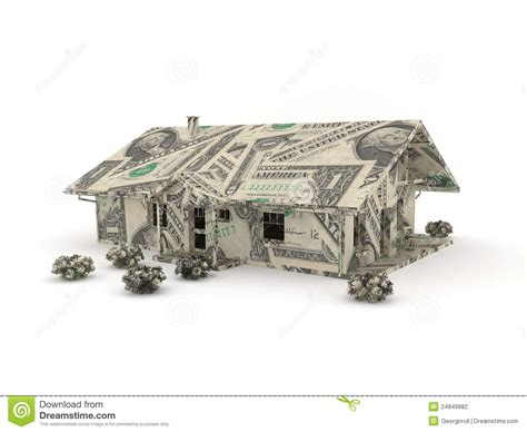 dollar bill origami house vintage car origami made from dollar bills stock