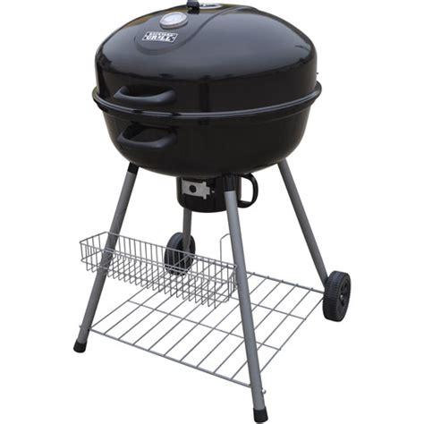 backyard grill kettle charcoal grill backyard grill 26 quot kettle charcoal grill walmart