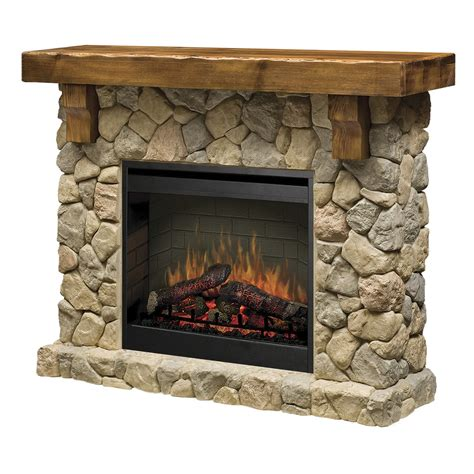 wall mantle dimplex fieldstone smp 904 st electric fireplace wall