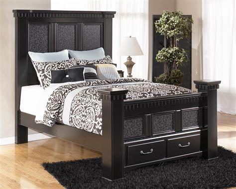 cavallino mansion bedroom set signature design by furniture cavallino