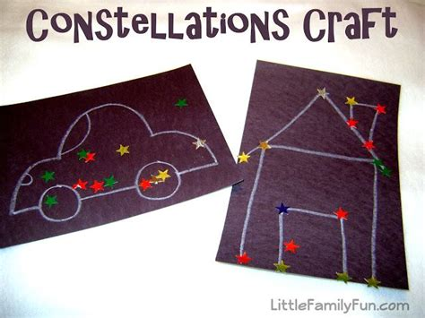 constellation crafts for constellation crafts preschool science
