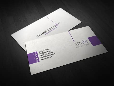 business card in photoshop free business card photoshop template lutz heidbrink