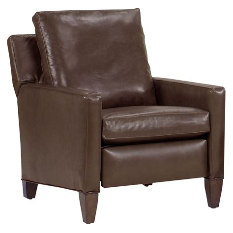 Leather Recliner Chair by Alvin Quot Designer Style Quot Leg Leather Reclining Chair