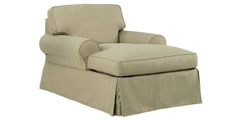 slipcover for chaise sofa chaise sofa covers furniture slipcovers for sectional