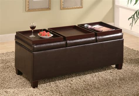 coffee table with four ottomans 5 best storage ottoman coffee table powerful coffee