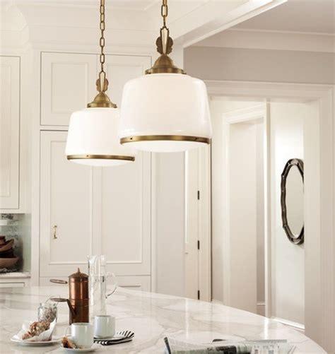 deco kitchen lighting large deco pendant brass