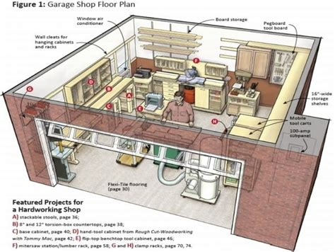 garage workshop plans inspiring garage workshop design 2 garage workshop