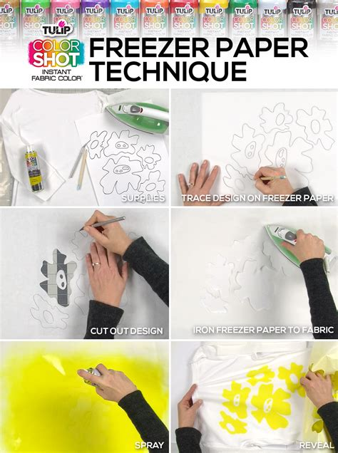 freezer paper crafts the ultimate diy colorshot ilovetocreate