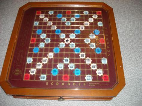 luxury scrabble board scrabble franklin mint luxury board oak bay