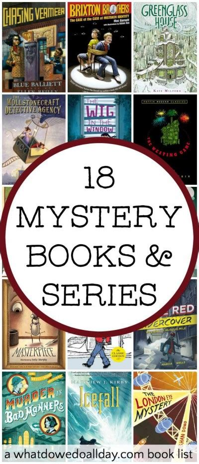 mystery picture books for middle grade mystery books