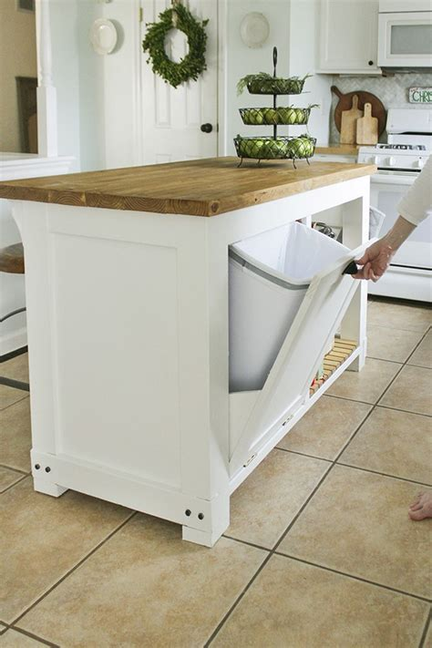 kitchen island trash 12 ideas to bring sophistication to your kitchen island