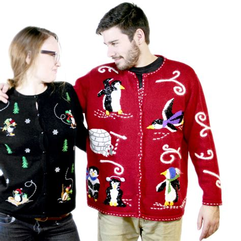 tacky sweater sequin penguins tacky sweater the