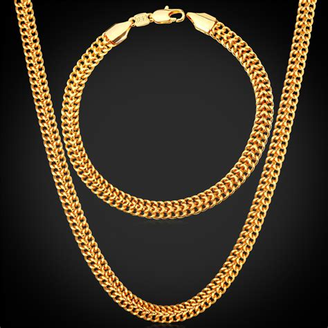 bracelet chains for jewelry 18k gold plated mesh chains for necklace bracelet