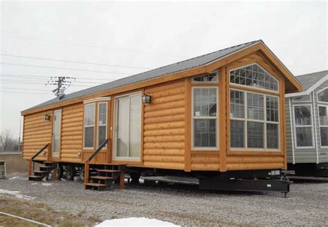 cabin style houses log cabin style mobile homes with 2 bedroom ideas home