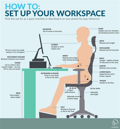 computer desk ergonomics measurements best desk height for ergonomic best home design 2018
