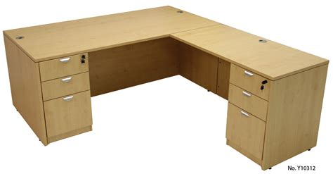 maple office furniture 6 suite