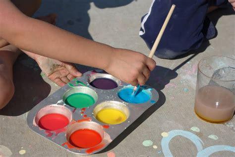 sidewalk chalk paint diy sidewalk chalk paint happiness is