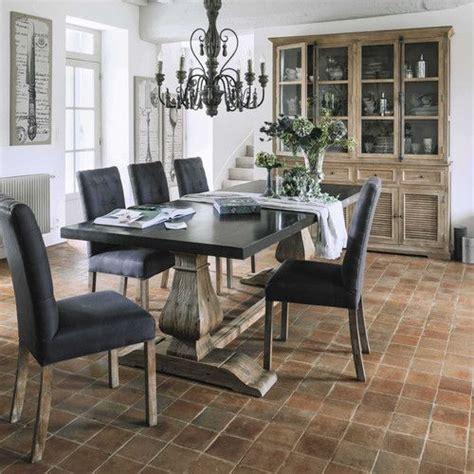 table de salle 224 manger en m 233 tal et bois recycl 233 l 240 cm meubles saints