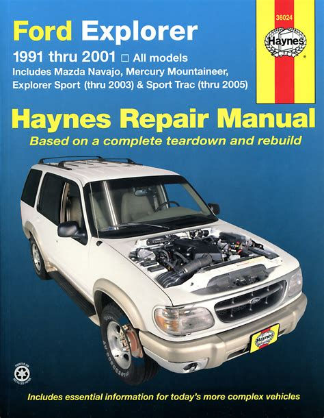 car service manuals pdf 2000 ford explorer sport trac electronic valve timing ford explorer mazda navajo covering ford explorer mazda navajo 1991 2001 mercury