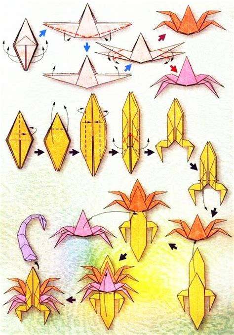 origami zodiac origami du signe du zodiaque le scorpion
