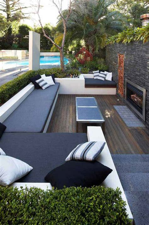 Swimming Pool House Plans 23 simply impressive sunken sitting areas for a