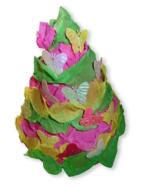 Paper Crafts For Children 187 Crepe Paper Tree
