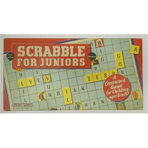 scrabble for juniors scrabble for juniors j w spear sons ltd v a search