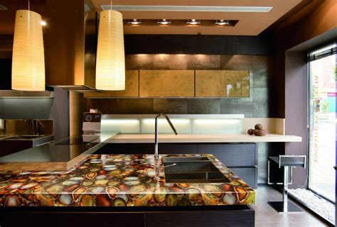 modern kitchen countertops modern kitchen countertops from materials 30 ideas