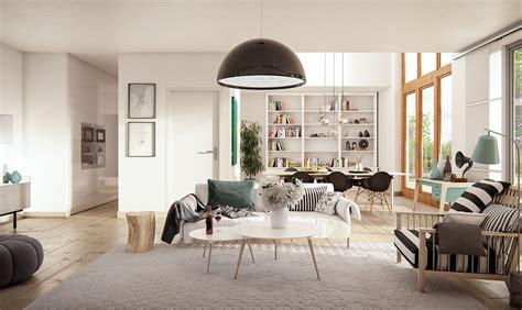 scandinavian decor striped scandinavian decor interior design ideas