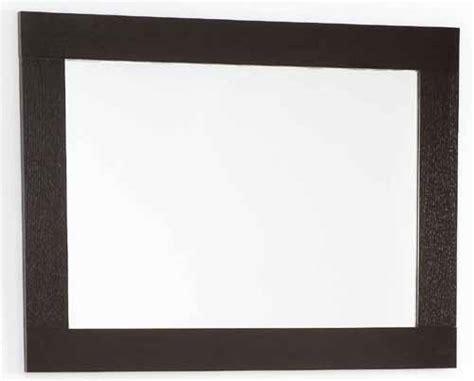 wenge bathroom mirror wenge bathroom mirror size 800x600mm davinci q 7080awe