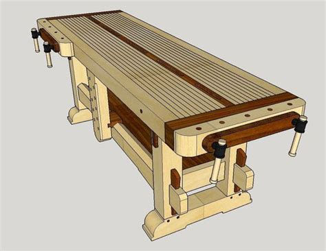 free sketchup woodworking plans sketchup for woodworking design the quot samurai workbench