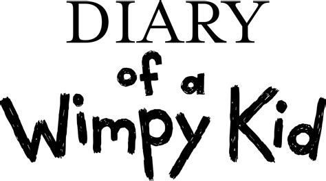 diary of a wimpy kid pictures from the book file diary of a wimpy kid logo svg