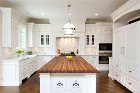 butcherblock kitchen island chicago illinois interior photographers custom luxury home builder photography architectural il