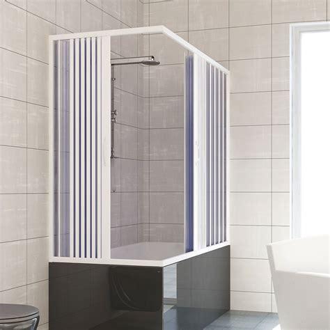 Over Bath Shower Enclosures over bath shower enclosure plastic pvc folding doors panel