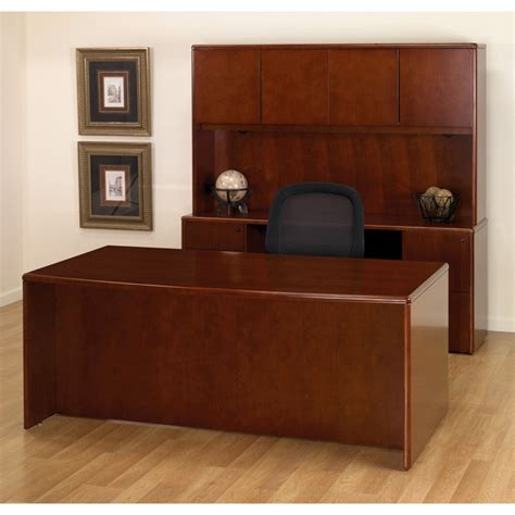 cherry office desks executive office desk suite in cherry wood