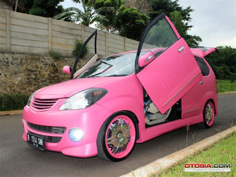 Modifikasi Vespa Warna Pink by Modifikasi Avanza Pink Modifikasi Avanza Pink Demi Sang