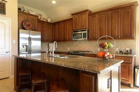 Kitchen Backsplash Ideas countertop and backsplash that goes with medium wood