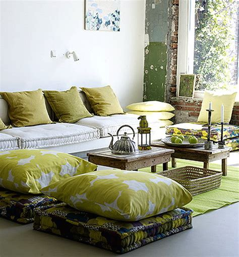 Dining Room Cushions 57 cool ideas to decorate your place with floor pillows