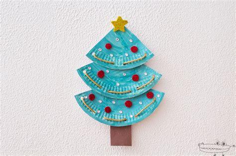 manualidades para arbol de navidad 193 rbol de navidad con platos de papel manualidades infantiles