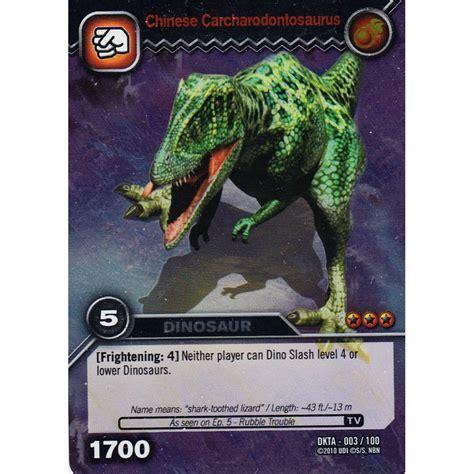 how to make dinosaur king cards deck dinosaur king card dkta 003