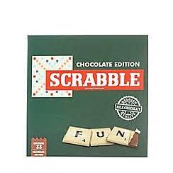 scrabble chocolate edition food drink gifts gifts debenhams