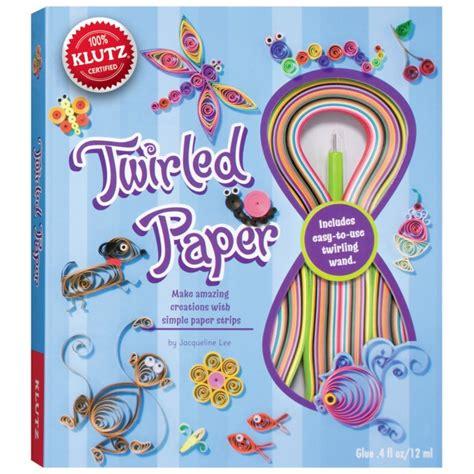paper craft kit twirled paper craft kit for klutz craft