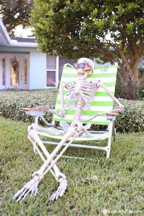 lawn decorations outdoors diy skeleton lawn decorations for helpful