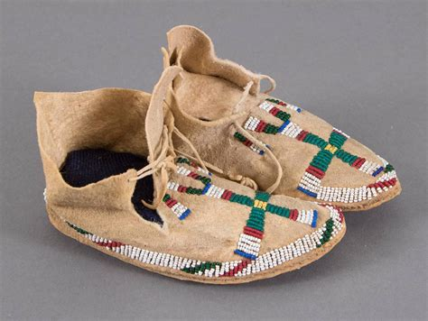 beaded moccasins for sale antique beaded child s moccasins cheyenne plains indian