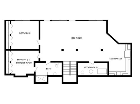 rambler floor plans with basement rambler house plans with basement house plans