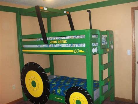 shaun s tractor bunk bed