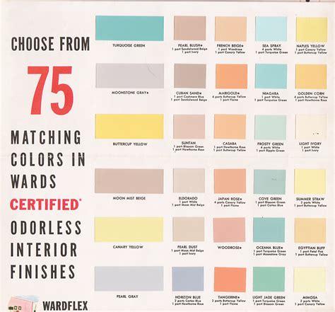 paint colors for vintage goodness 1 0 vintage decorating 1950 s paint
